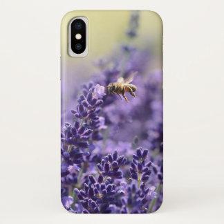 Coque iPhone X Abeille de lavande et de miel