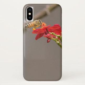 Coque iPhone X Abeille de miel