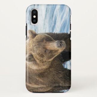 Coque iPhone X Affaire 2 de téléphone de l'ours 503