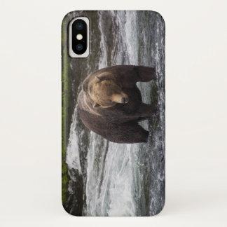 Coque iPhone X Affaire 2 de téléphone de l'ours 68