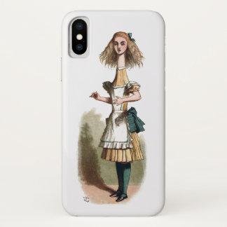 Coque iPhone X Alice au pays des merveilles plus curieux