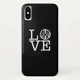Coque iPhone X Alpha amour d'Omega   de Chi