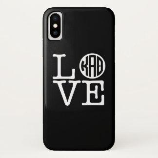 Coque iPhone X Alpha amour du thêta | de Kappa