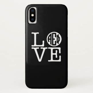 Coque iPhone X Alpha amour epsilon du phi |