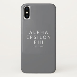 Coque iPhone X Alpha est epsilon du phi |. 1909