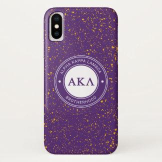 Coque iPhone X Alpha insigne du Kappa lambda |