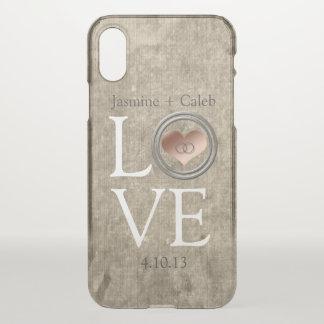 Coque iPhone X Amour-Avec cet anneau par Shirley Taylor