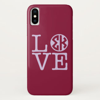 Coque iPhone X Amour de Kappa de sigma