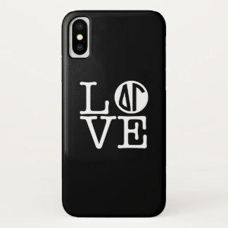 Coque iPhone X Amour du gamma   de delta