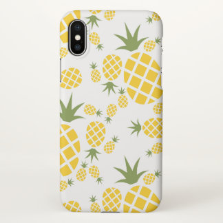Coque iPhone X Ananas tropical