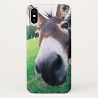 Coque iPhone X Âne