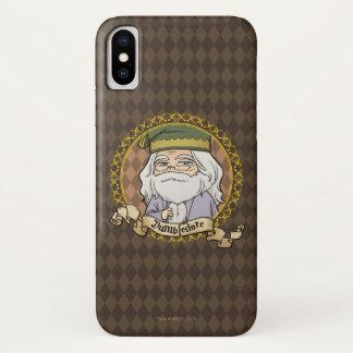 Coque iPhone X Anime Dumbledore