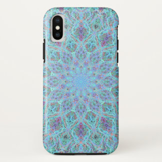 Coque iPhone X arabesque coloré Boho-romantique d'ornement de
