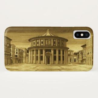 Coque iPhone X Architecte IDÉAL de la Renaissance de VILLE, jaune
