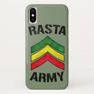 Coque iPhone X Armée de Rasta