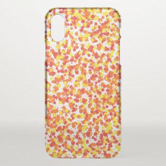 Coque iPhone X Arrière - plan épongé par encre de Shirley Taylor