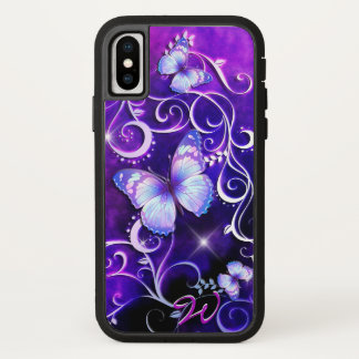 Coque iPhone X Art 3 de papillon