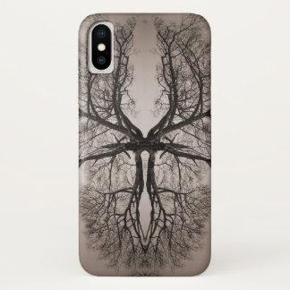 Coque iPhone X Art d'arbre