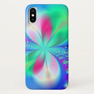 Coque iPhone X Art de fractale de la danse du sylphe