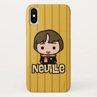 Coque iPhone X Art de personnage de dessin animé de Neville