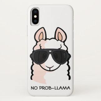 Coque iPhone X Aucun Prob-Lama