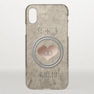 Coque iPhone X Avec cet anneau par Shirley Taylor