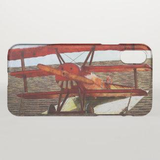 Coque iPhone X Avion vintage par Shirley Taylor