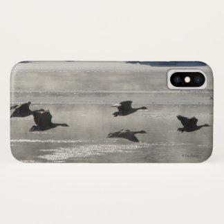 Coque iPhone X B0047 oies canadiennes Iphone 8/7 cas de téléphone