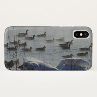 Coque iPhone X B0049 oies canadiennes Iphone 8/7 cas de téléphone