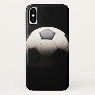Coque iPhone X Ballon de football 3