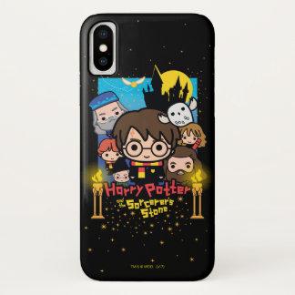 Coque iPhone X Bande dessinée Harry Potter et la pierre du