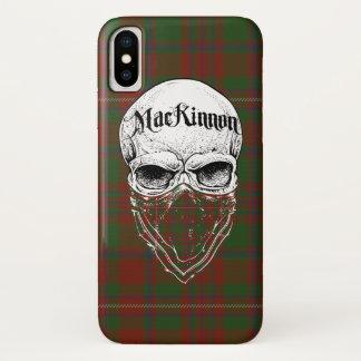 Coque iPhone X Bandit de tartan de MacKinnon