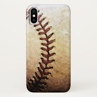 Coque iPhone X Base-ball