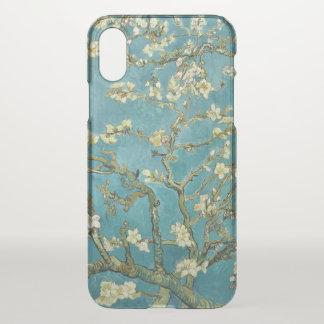 Coque iPhone X Beaux-arts GalleryHD de fleur d'amande de Vincent