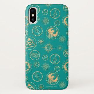 Coque iPhone X Bêtes fantastiques et où les trouver motif
