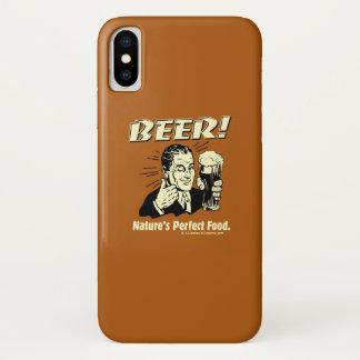Coque iPhone X Bière : La nourriture parfaite de la nature