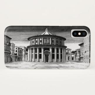Coque iPhone X Blanc IDÉAL de noir d'architecture de la