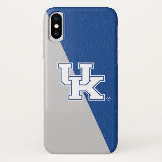 Coque iPhone X Bloc BRITANNIQUE de couleur du Kentucky   Kentucky