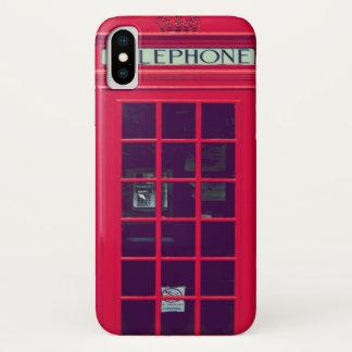 Coque iPhone X Boîte originale de téléphone des anglais