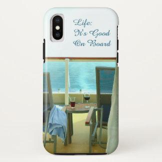 Coque iPhone X Bon à bord