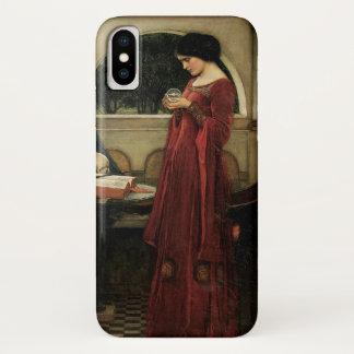 Coque iPhone X Boule de cristal par le château d'eau, art