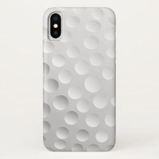 Coque iPhone X Boule de golf