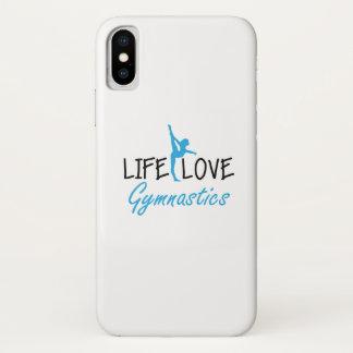 Coque iPhone X Cadeau mignon de gymnaste gymnastique de