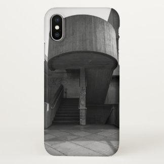 Coque iPhone X Cage d'escalier de Brutalist
