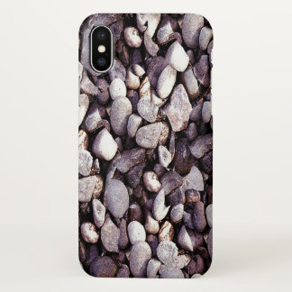 Coque iPhone X Cailloux minuscules