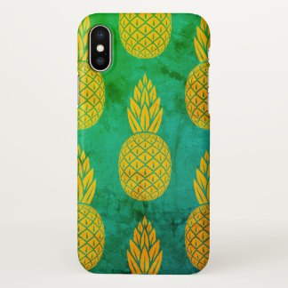 Coque iPhone X Caisse d'ananas d'Iphone X