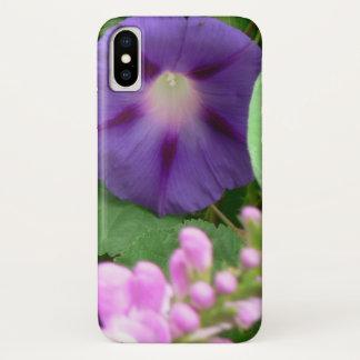 Coque iPhone X Caisse de portable de gloire de matin