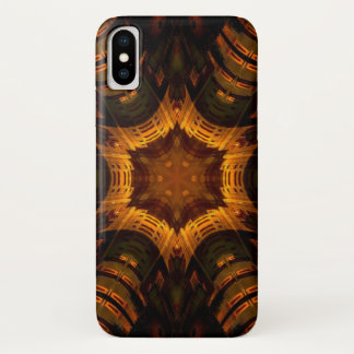 Coque iPhone X Caisse d'étoile de démon de Baalzephon