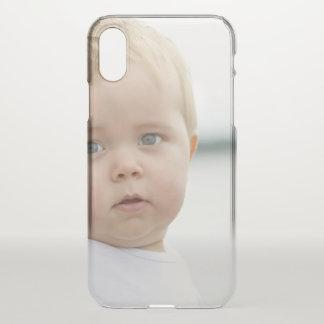 Coque iPhone X Caisse mignonne de déflecteur de l'iPhone X