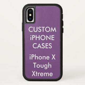 Coque iPhone X Caisse protectrice dure de l'iPhone personnalisée